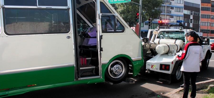 CONTINÚAN AUTORIDADES DEL GCDMX CON OPERATIVOS EN TRANSPORTE PÚBLICO DE PASAJEROS